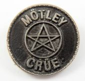 Motley Crue - 'Pentagram' Cast Metal Badge